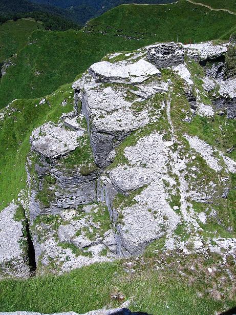 Foto: Andreas Koller / Klettersteig Tour / Via ferrata Angelino (1701 m) / 16.07.2009 23:21:39