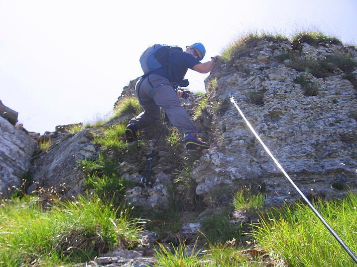 Foto: Andreas Koller / Klettersteig Tour / Via ferrata Angelino (1701 m) / 16.07.2009 23:21:30