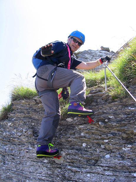 Foto: Andreas Koller / Klettersteig Tour / Via ferrata Angelino (1701 m) / 16.07.2009 23:21:22