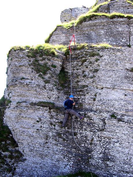 Foto: Andreas Koller / Klettersteig Tour / Via ferrata Angelino (1701 m) / 16.07.2009 23:20:44