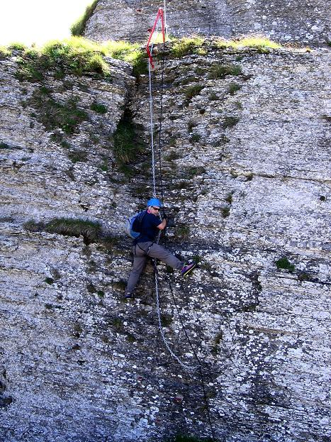 Foto: Andreas Koller / Klettersteig Tour / Via ferrata Angelino (1701 m) / 16.07.2009 23:20:34