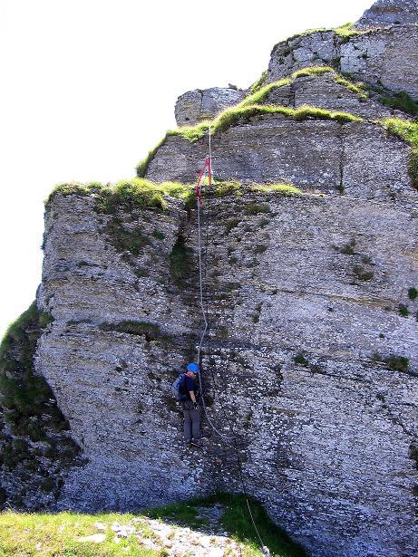 Foto: Andreas Koller / Klettersteig Tour / Via ferrata Angelino (1701 m) / 16.07.2009 23:20:16