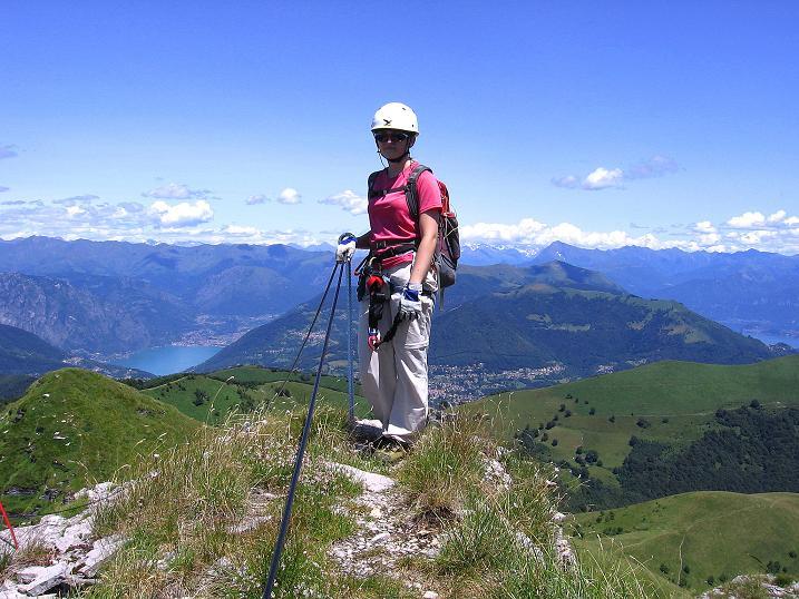 Foto: Andreas Koller / Klettersteig Tour / Via ferrata Angelino (1701 m) / 16.07.2009 23:20:06