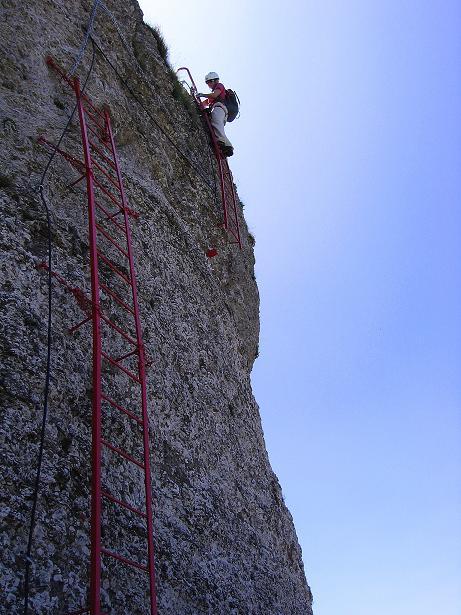 Foto: Andreas Koller / Klettersteig Tour / Via ferrata Angelino (1701 m) / 16.07.2009 23:19:58