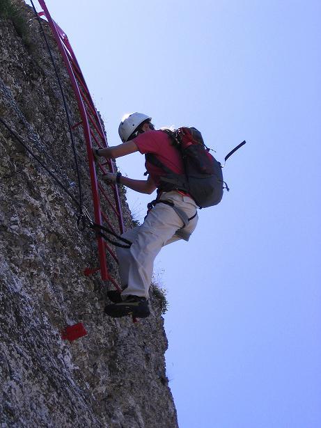 Foto: Andreas Koller / Klettersteig Tour / Via ferrata Angelino (1701 m) / 16.07.2009 23:19:47