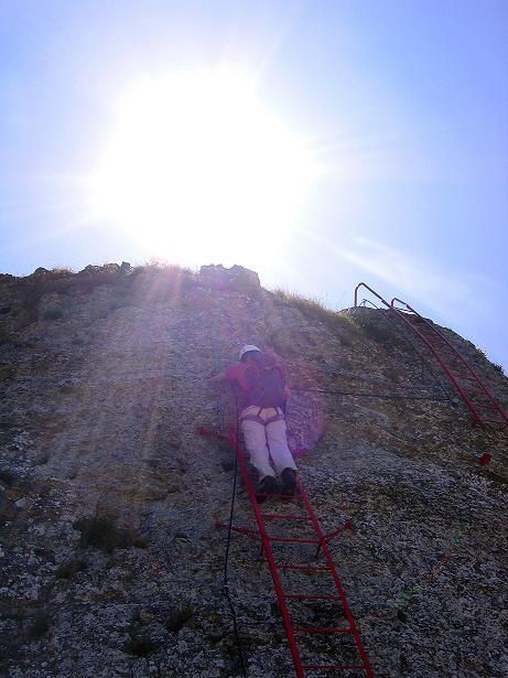 Foto: Andreas Koller / Klettersteig Tour / Via ferrata Angelino (1701 m) / 16.07.2009 23:19:06