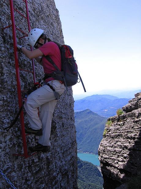 Foto: Andreas Koller / Klettersteig Tour / Via ferrata Angelino (1701 m) / 16.07.2009 23:18:57