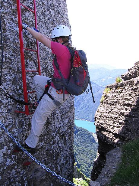 Foto: Andreas Koller / Klettersteig Tour / Via ferrata Angelino (1701 m) / 16.07.2009 23:18:46