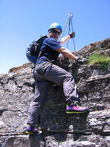 Foto: Andreas Koller / Klettersteig Tour / Via ferrata Angelino (1701 m) / 16.07.2009 23:18:25