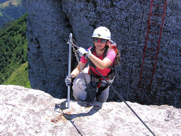 Foto: Andreas Koller / Klettersteig Tour / Via ferrata Angelino (1701 m) / 16.07.2009 23:18:15