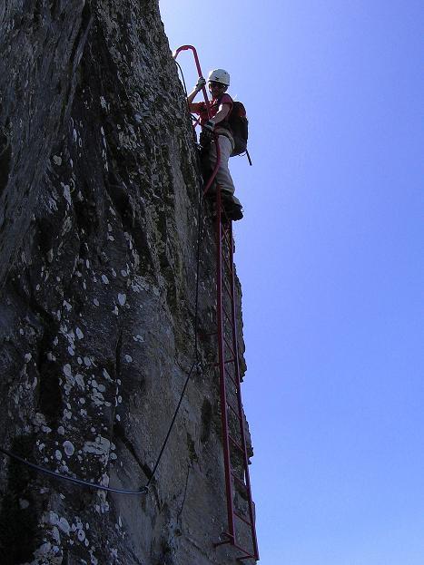 Foto: Andreas Koller / Klettersteig Tour / Via ferrata Angelino (1701 m) / 16.07.2009 23:17:55