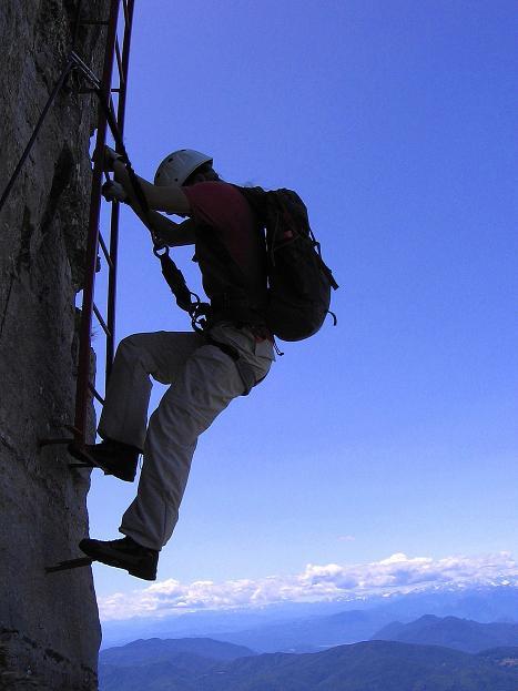Foto: Andreas Koller / Klettersteig Tour / Via ferrata Angelino (1701 m) / 16.07.2009 23:17:23