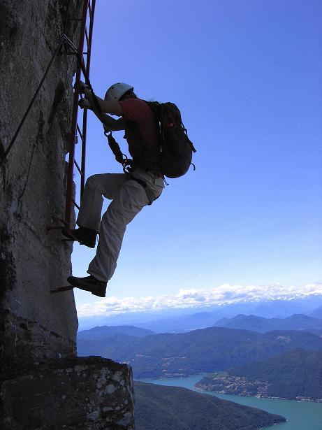 Foto: Andreas Koller / Klettersteig Tour / Via ferrata Angelino (1701 m) / 16.07.2009 23:17:16
