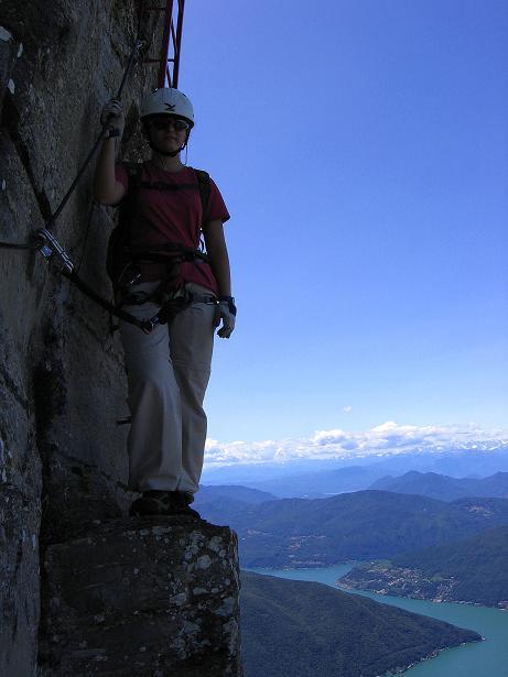 Foto: Andreas Koller / Klettersteig Tour / Via ferrata Angelino (1701 m) / 16.07.2009 23:17:07