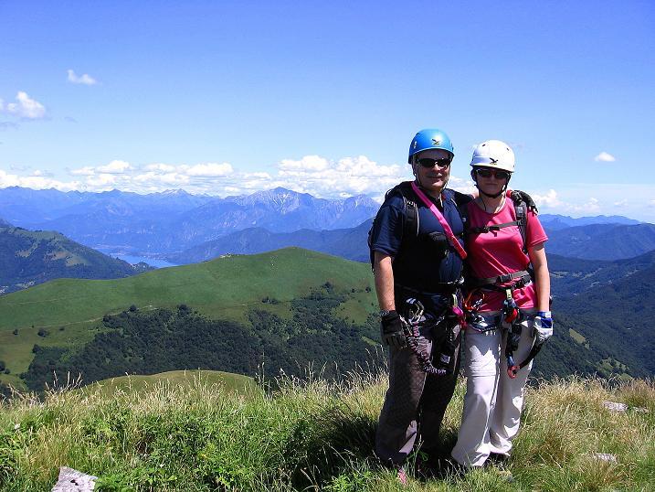 Foto: Andreas Koller / Klettersteig Tour / Via ferrata Angelino (1701 m) / 16.07.2009 23:16:24