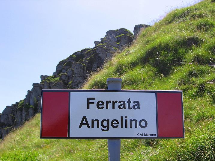 Foto: Andreas Koller / Klettersteig Tour / Via ferrata Angelino (1701 m) / Anfang oder Ende der Via ferrata Angelino? / 16.07.2009 23:15:59
