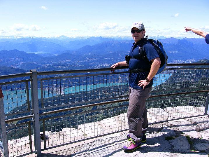 Foto: Andreas Koller / Klettersteig Tour / Via ferrata Angelino (1701 m) / Am Monte Generoso / 16.07.2009 23:15:12