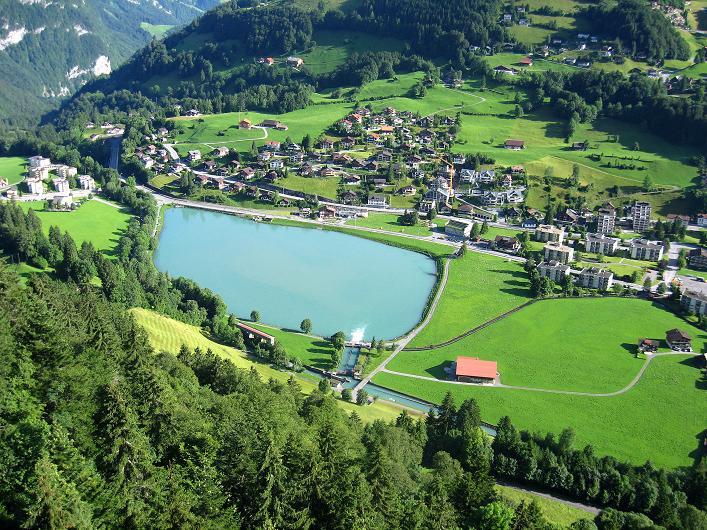 Foto: Andreas Koller / Klettersteig Tour / Klettersteig Graustock (2662 m) / Der Eugenisee bei Engelberg / 15.07.2009 23:59:09