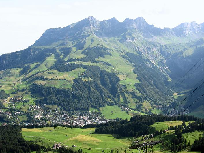 Foto: Andreas Koller / Klettersteig Tour / Klettersteig Graustock (2662 m) / Blick zum Rigidalstock (2593 m) / 15.07.2009 23:58:55