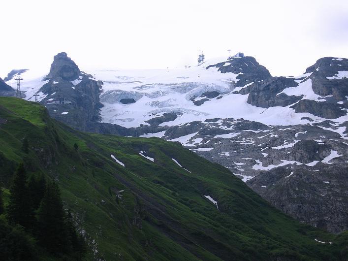 Foto: Andreas Koller / Klettersteig Tour / Klettersteig Graustock (2662 m) / Titlisgletscher / 15.07.2009 23:58:36