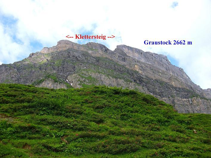 Foto: Andreas Koller / Klettersteig Tour / Klettersteig Graustock (2662 m) / 15.07.2009 23:57:43