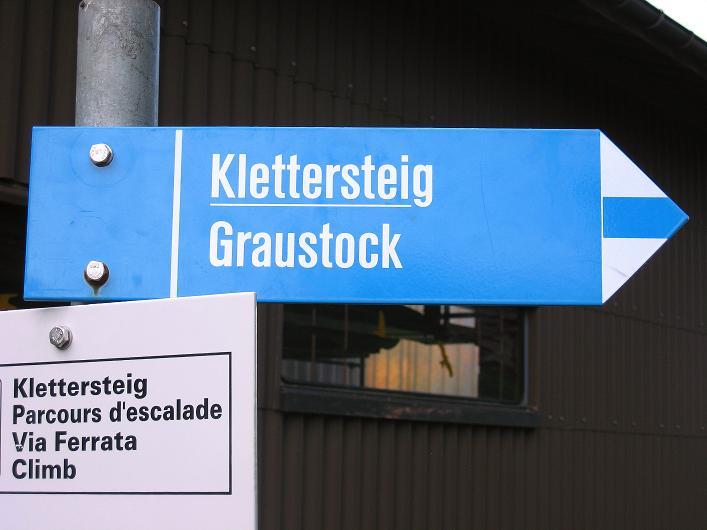 Foto: Andreas Koller / Klettersteig Tour / Klettersteig Graustock (2662 m) / 15.07.2009 23:57:09
