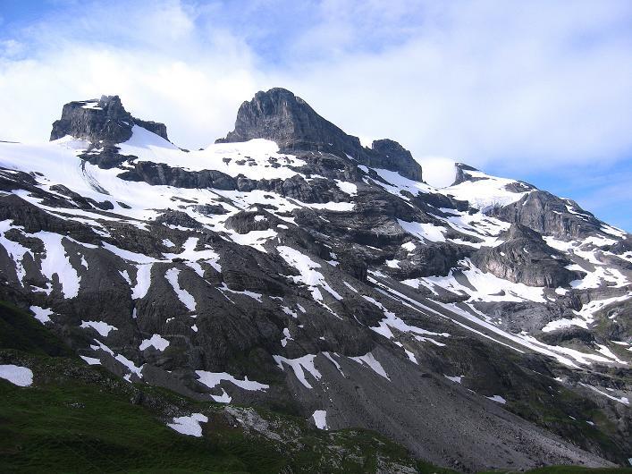 Foto: Andreas Koller / Klettersteig Tour / Klettersteig Graustock (2662 m) / Reißend Nollen (3003 m) / 15.07.2009 23:56:55