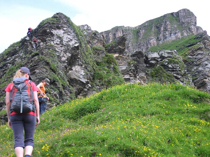 Foto: Andreas Koller / Klettersteig Tour / Klettersteig Graustock (2662 m) / 15.07.2009 23:55:50