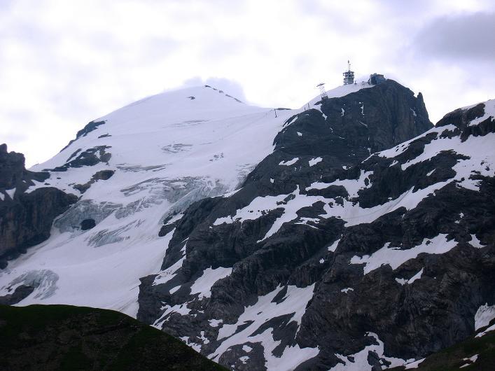 Foto: Andreas Koller / Klettersteig Tour / Klettersteig Graustock (2662 m) / Titlis (3239 m) / 15.07.2009 23:55:41