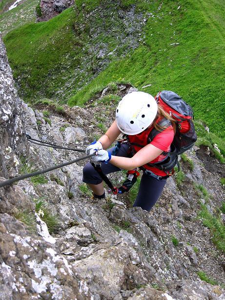Foto: Andreas Koller / Klettersteig Tour / Klettersteig Graustock (2662 m) / 15.07.2009 23:55:00