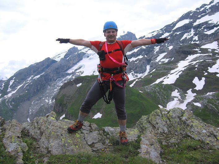 Foto: Andreas Koller / Klettersteig Tour / Klettersteig Graustock (2662 m) / 15.07.2009 23:54:50