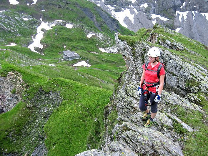 Foto: Andreas Koller / Klettersteig Tour / Klettersteig Graustock (2662 m) / 15.07.2009 23:54:40