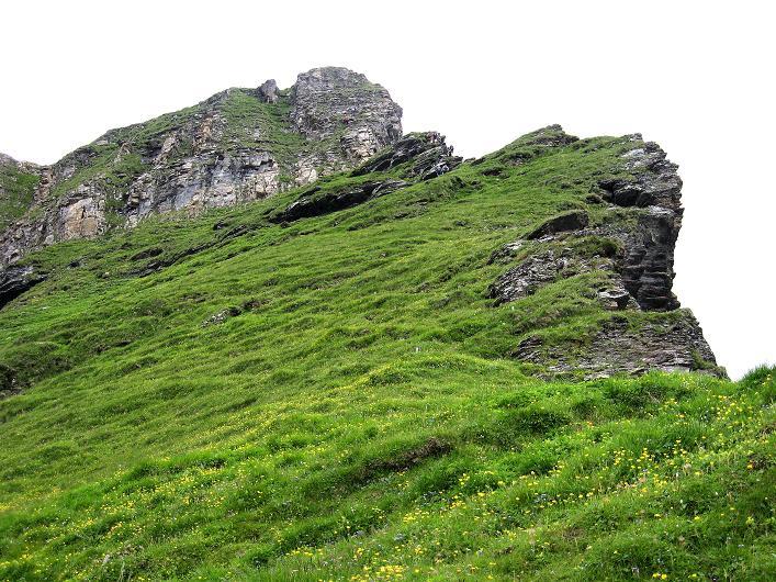 Foto: Andreas Koller / Klettersteig Tour / Klettersteig Graustock (2662 m) / Der schöne Grasgrat / 15.07.2009 23:53:58