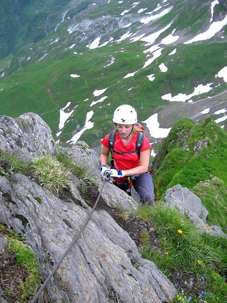 Foto: Andreas Koller / Klettersteig Tour / Klettersteig Graustock (2662 m) / 15.07.2009 23:52:51