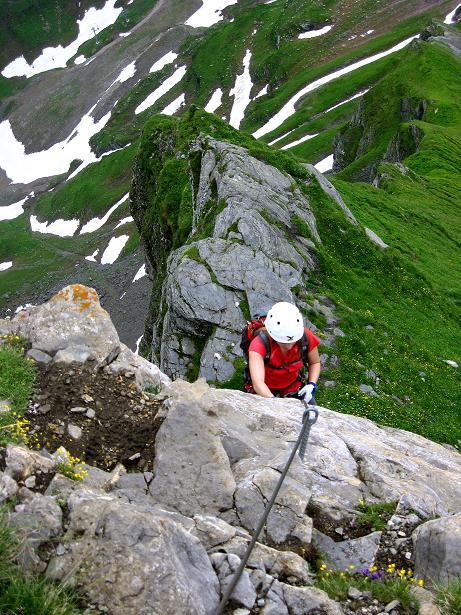 Foto: Andreas Koller / Klettersteig Tour / Klettersteig Graustock (2662 m) / 15.07.2009 23:52:40