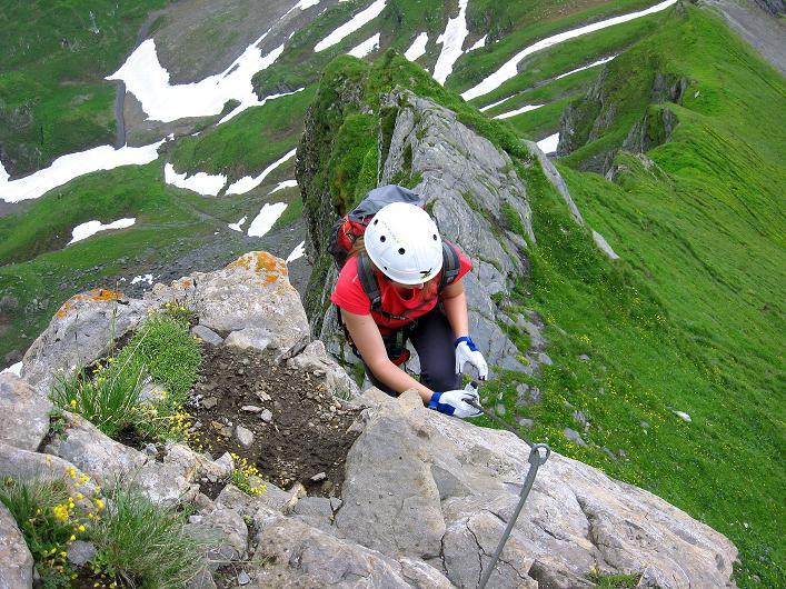 Foto: Andreas Koller / Klettersteig Tour / Klettersteig Graustock (2662 m) / 15.07.2009 23:52:32