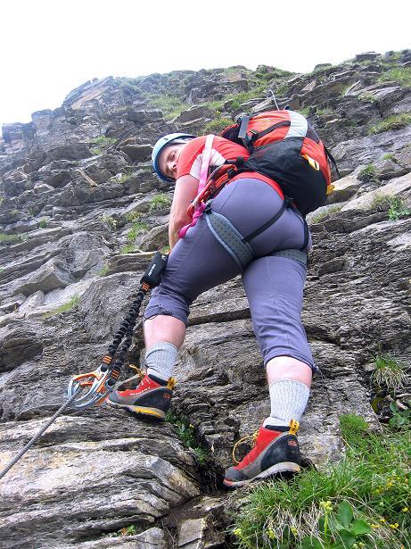 Foto: Andreas Koller / Klettersteig Tour / Klettersteig Graustock (2662 m) / 15.07.2009 23:52:18