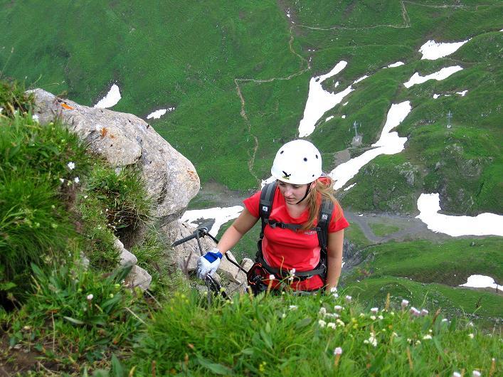 Foto: Andreas Koller / Klettersteig Tour / Klettersteig Graustock (2662 m) / 15.07.2009 23:52:09