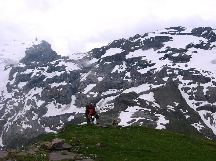 Foto: Andreas Koller / Klettersteig Tour / Klettersteig Graustock (2662 m) / 15.07.2009 23:52:01