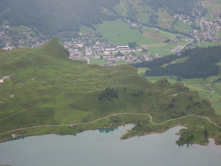 Foto: Andreas Koller / Klettersteig Tour / Klettersteig Graustock (2662 m) / Trübsee und Engelberg / 15.07.2009 23:51:54