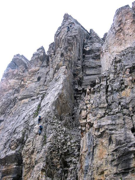 Foto: Andreas Koller / Klettersteig Tour / Klettersteig Graustock (2662 m) / 15.07.2009 23:50:36