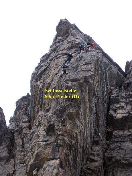 Foto: Andreas Koller / Klettersteig Tour / Klettersteig Graustock (2662 m) / 15.07.2009 23:50:25