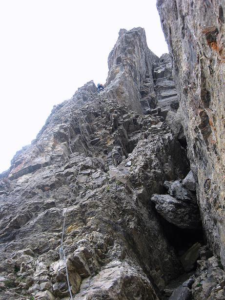 Foto: Andreas Koller / Klettersteig Tour / Klettersteig Graustock (2662 m) / 15.07.2009 23:50:15