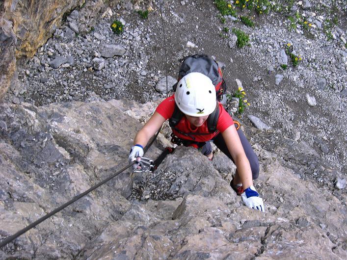 Foto: Andreas Koller / Klettersteig Tour / Klettersteig Graustock (2662 m) / 15.07.2009 23:50:03