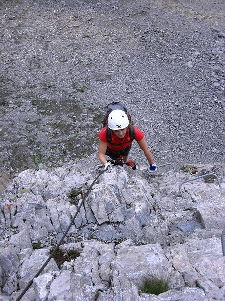 Foto: Andreas Koller / Klettersteig Tour / Klettersteig Graustock (2662 m) / 15.07.2009 23:49:44