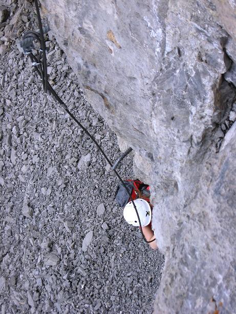 Foto: Andreas Koller / Klettersteig Tour / Klettersteig Graustock (2662 m) / 15.07.2009 23:49:17