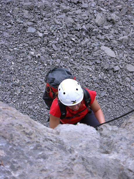 Foto: Andreas Koller / Klettersteig Tour / Klettersteig Graustock (2662 m) / 15.07.2009 23:49:04