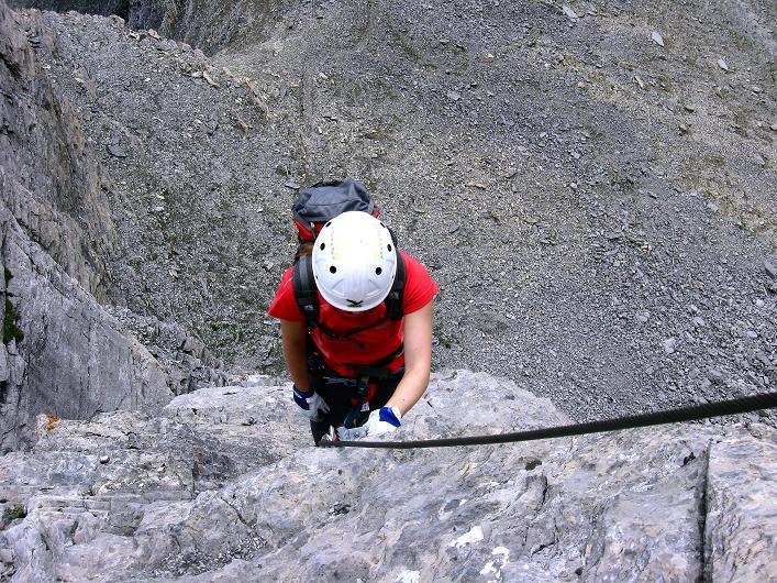 Foto: Andreas Koller / Klettersteig Tour / Klettersteig Graustock (2662 m) / 15.07.2009 23:48:54