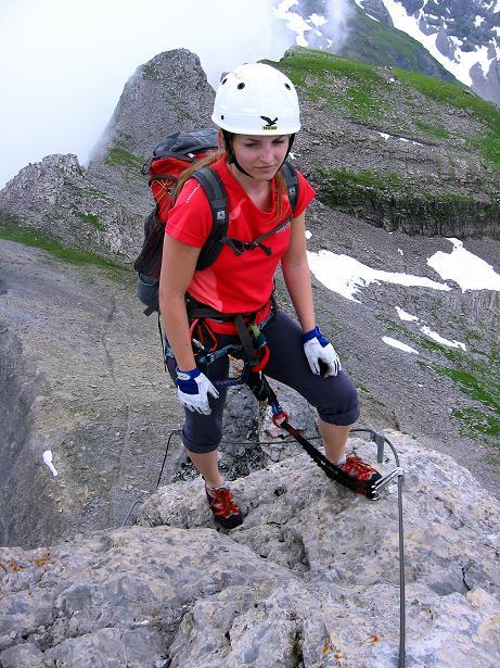Foto: Andreas Koller / Klettersteig Tour / Klettersteig Graustock (2662 m) / 15.07.2009 23:47:45