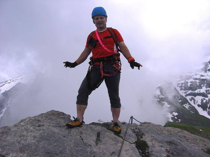 Foto: Andreas Koller / Klettersteig Tour / Klettersteig Graustock (2662 m) / 15.07.2009 23:47:34